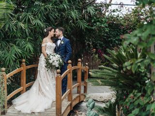 The wedding of Alana and Arkady