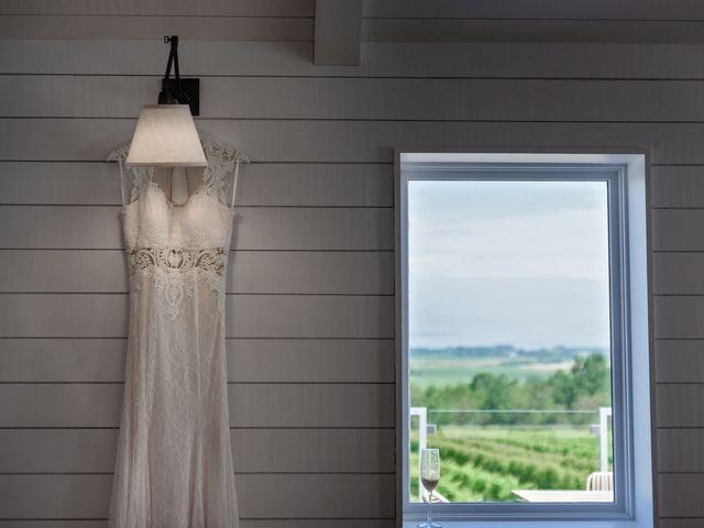 Logan and Rebecca's wedding in Wolfville, Nova Scotia 1