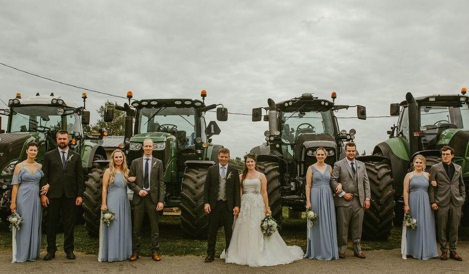 Jonas and Whitney's wedding in Langley, British Columbia