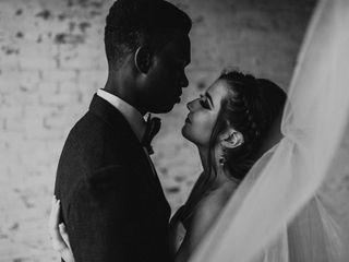 The wedding of Veronique and Marquel 1