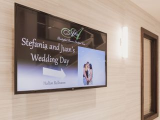 The wedding of Stefania and Juan 1