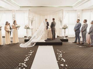 The wedding of Stefania and Juan