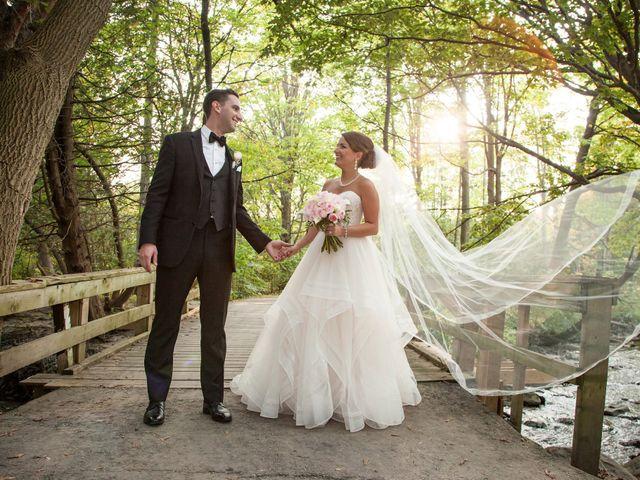 The wedding of Barbara and Matthew