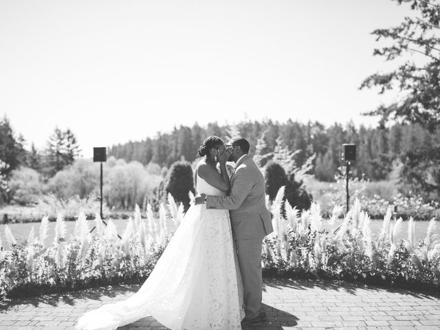 Thomas and Leah's wedding in Victoria, British Columbia 1