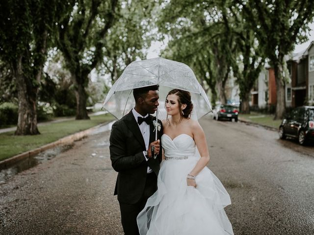 The wedding of Veronique and Marquel