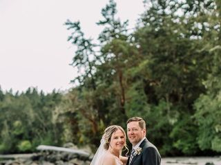 The wedding of Autumn and Dan 1