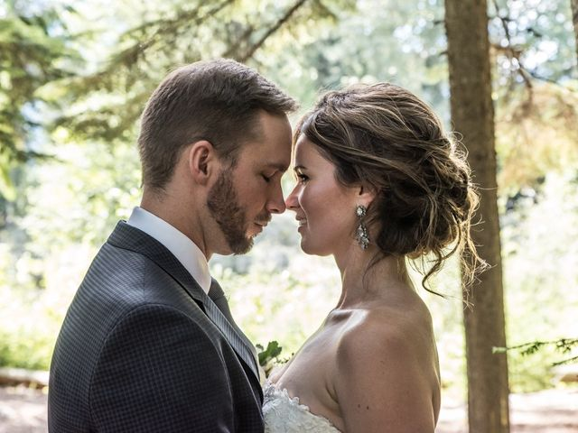 The wedding of Ashley and Colin