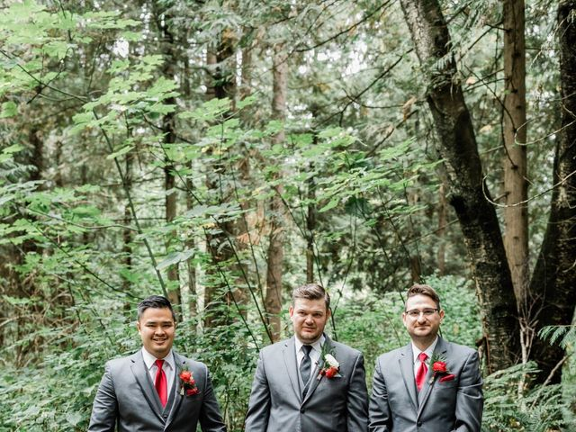 Natalie and Pavel's wedding in Langley, British Columbia 1