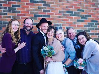 The wedding of Amy and Laadan 1