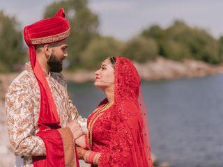 The wedding of Faraz and Malaika