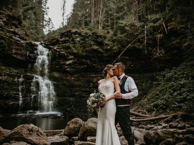 Adam and Sara's wedding in Fernie, British Columbia 3