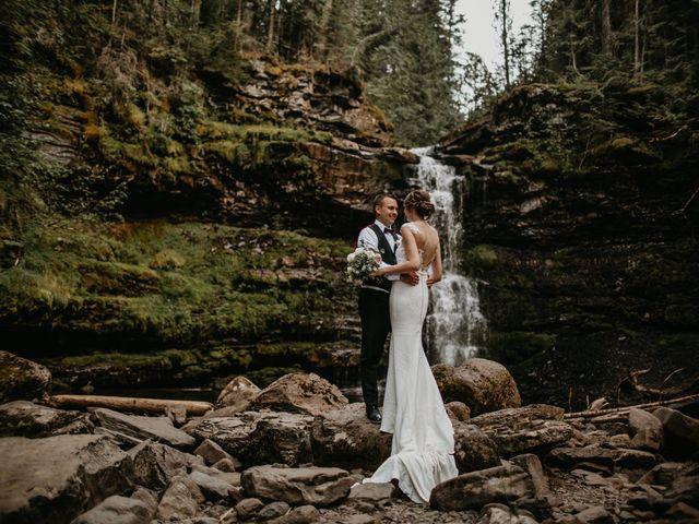 Adam and Sara's wedding in Fernie, British Columbia 6