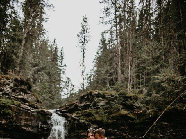 Adam and Sara's wedding in Fernie, British Columbia 7
