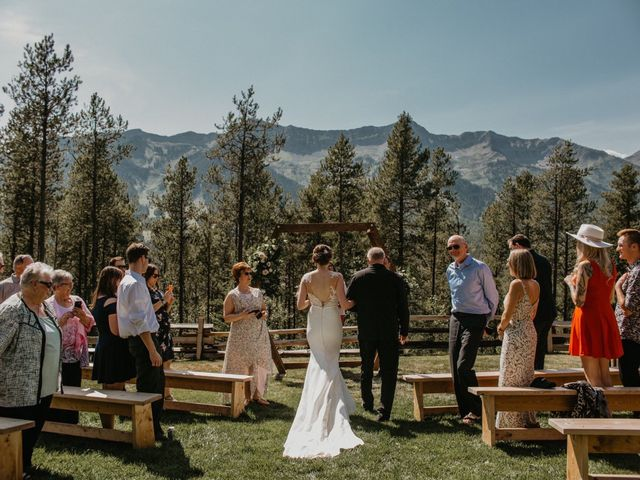 Adam and Sara's wedding in Fernie, British Columbia 8