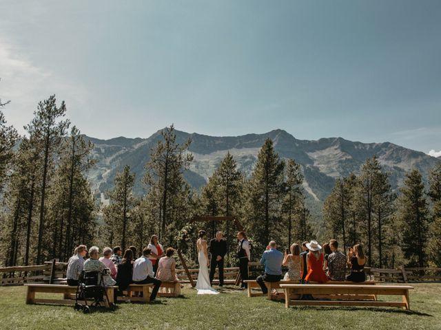 Adam and Sara's wedding in Fernie, British Columbia 9