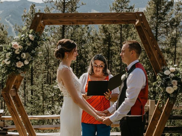 Adam and Sara's wedding in Fernie, British Columbia 2