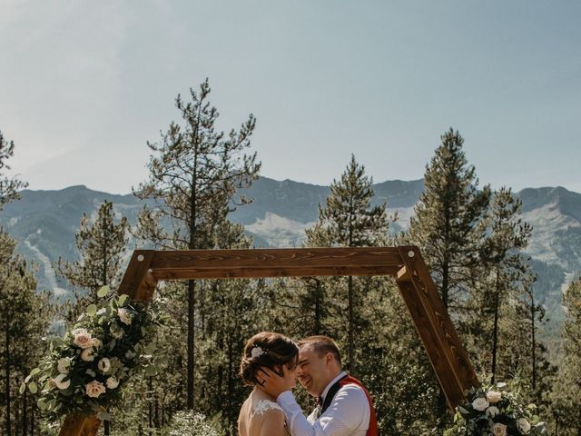 Adam and Sara's wedding in Fernie, British Columbia 10