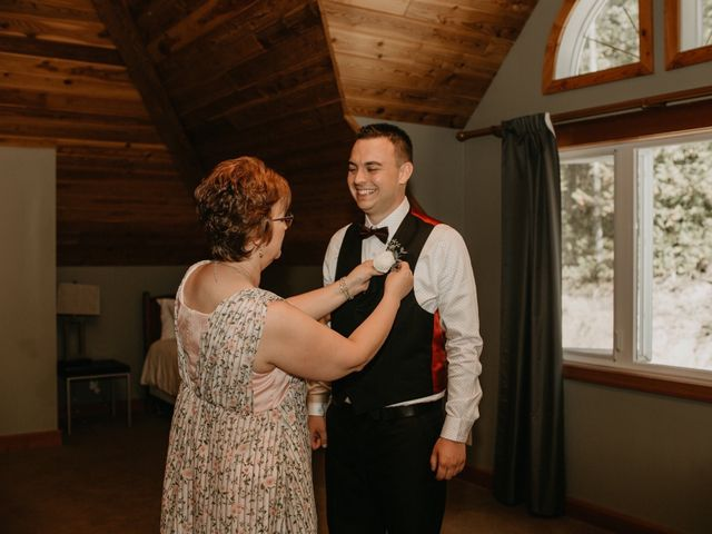 Adam and Sara's wedding in Fernie, British Columbia 13