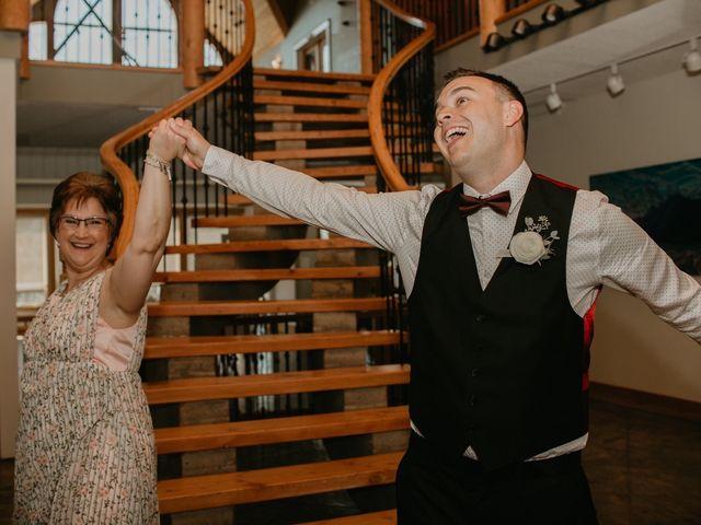 Adam and Sara's wedding in Fernie, British Columbia 14