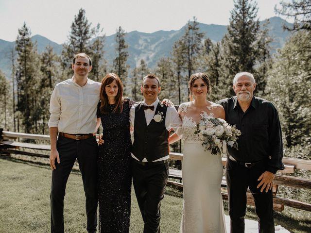 Adam and Sara's wedding in Fernie, British Columbia 15