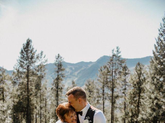Adam and Sara's wedding in Fernie, British Columbia 18