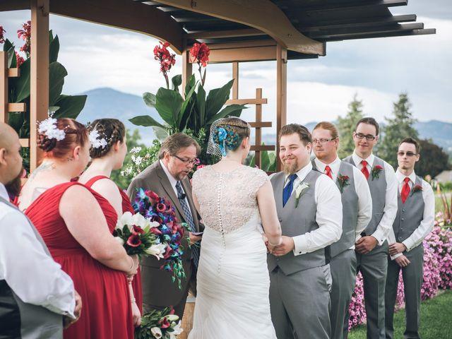 Alex and Genna's wedding in Kelowna, British Columbia 2