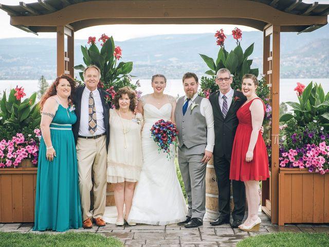 Alex and Genna's wedding in Kelowna, British Columbia 7