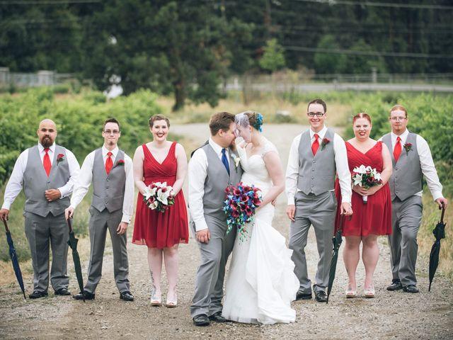Alex and Genna's wedding in Kelowna, British Columbia 8