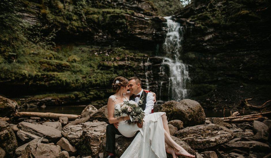 Adam and Sara's wedding in Fernie, British Columbia