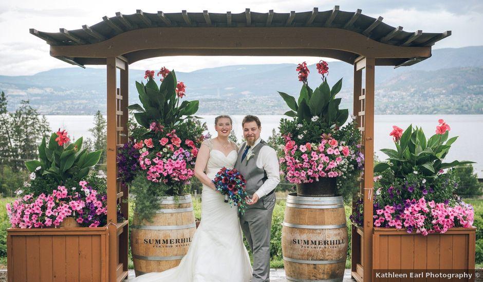 Alex and Genna's wedding in Kelowna, British Columbia