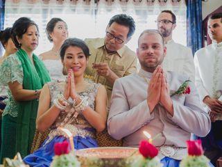 The wedding of Somaly and Simon