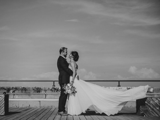 Simon and Somaly's wedding in Montreal, Quebec 1