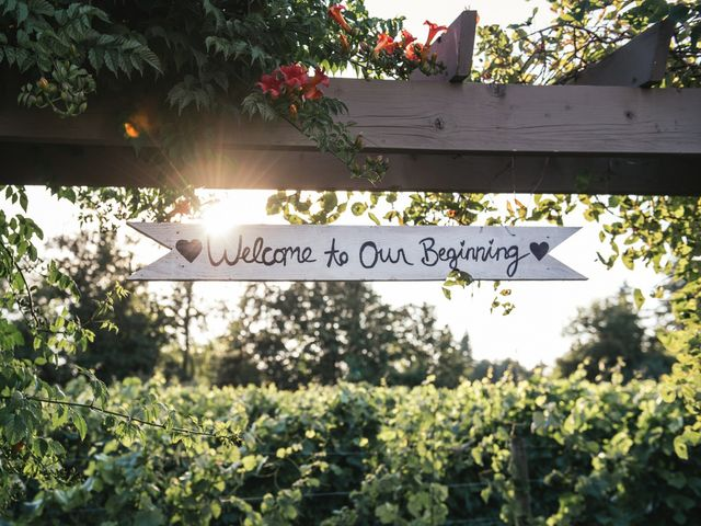 Cory and Bree's wedding in Aldergrove, British Columbia 1