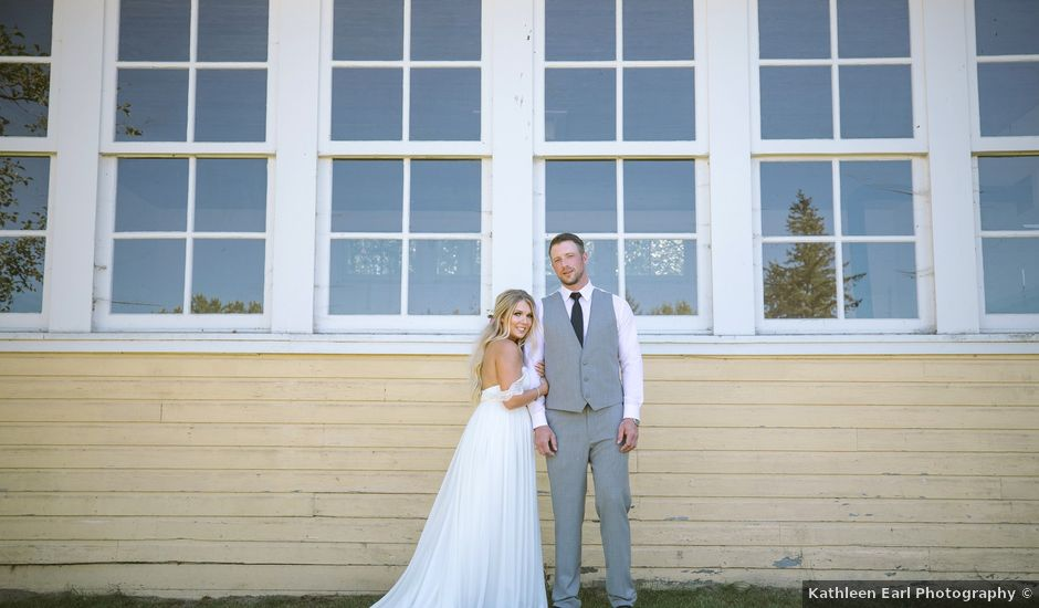 Cory and Bree's wedding in Aldergrove, British Columbia