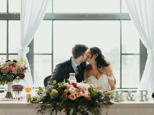 The wedding of Reema  and Kirk