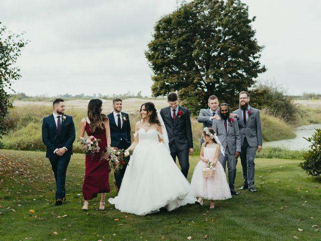 Kirk and Reema 's wedding in Pitt Meadows, British Columbia 1