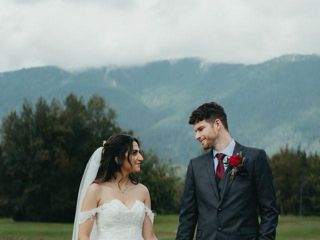 Kirk and Reema 's wedding in Pitt Meadows, British Columbia 5