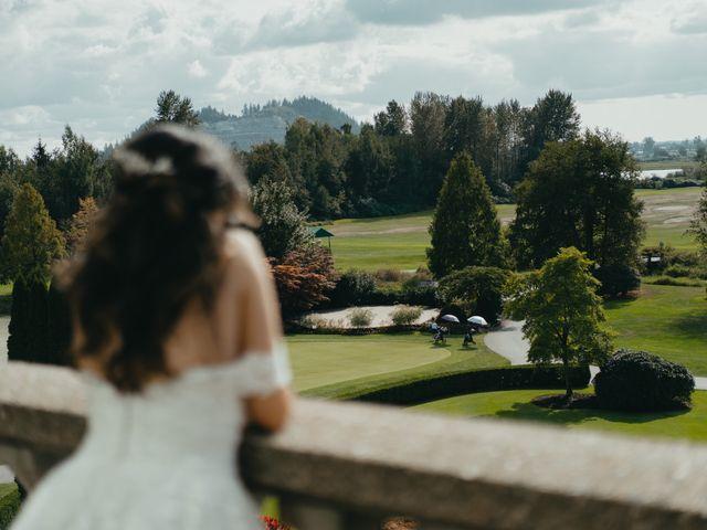 Kirk and Reema 's wedding in Pitt Meadows, British Columbia 6