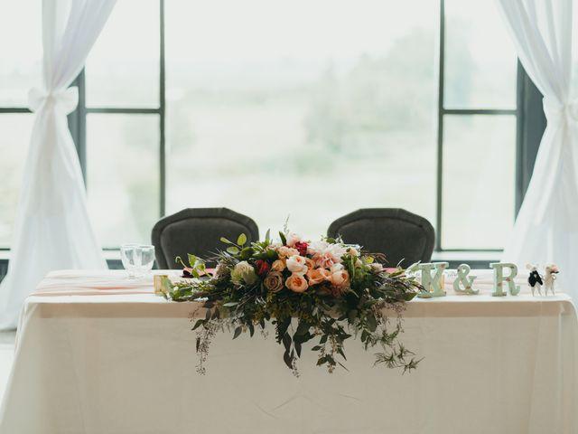 Kirk and Reema 's wedding in Pitt Meadows, British Columbia 10