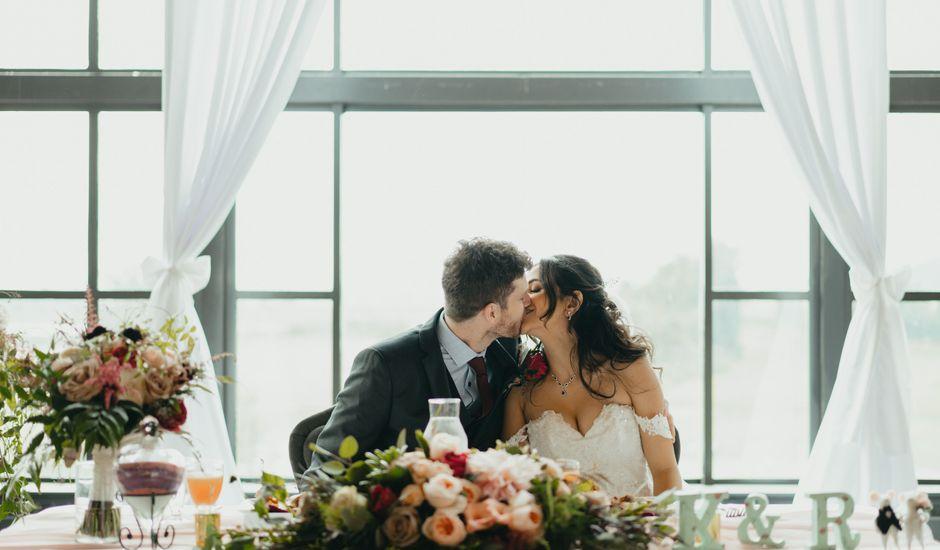 Kirk and Reema 's wedding in Pitt Meadows, British Columbia