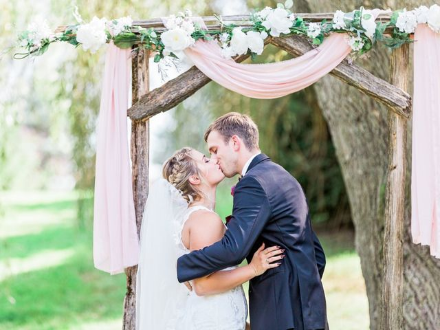 The wedding of Chrissy and Calvin