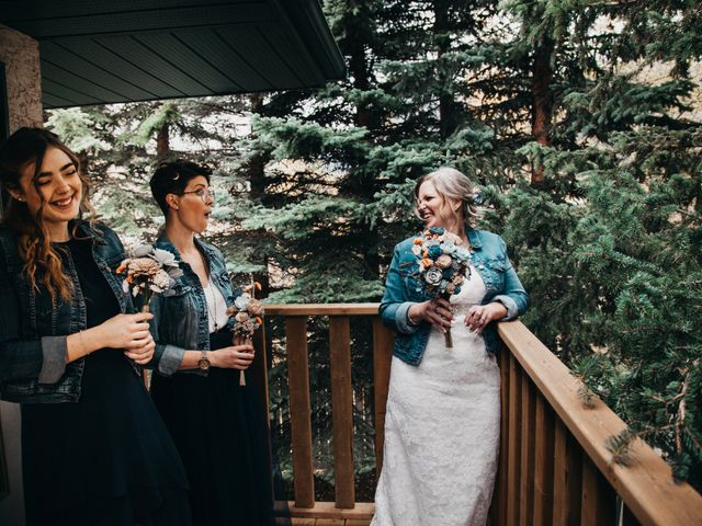 Gregg and Kristina's wedding in Canmore, Alberta 16