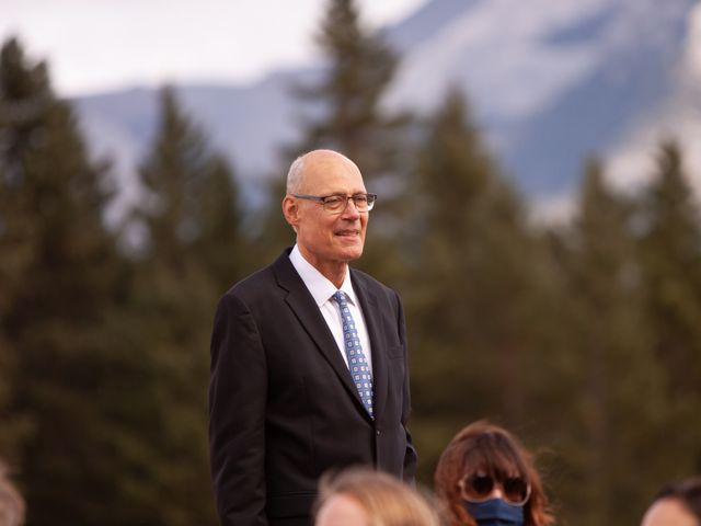 Gregg and Kristina's wedding in Canmore, Alberta 17