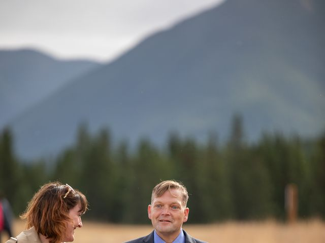 Gregg and Kristina's wedding in Canmore, Alberta 19