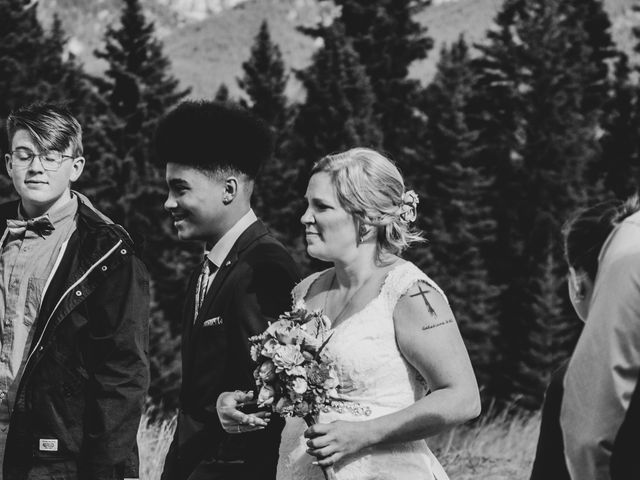Gregg and Kristina's wedding in Canmore, Alberta 23