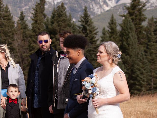 Gregg and Kristina's wedding in Canmore, Alberta 24