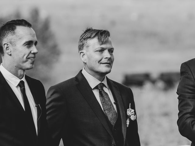 Gregg and Kristina's wedding in Canmore, Alberta 25
