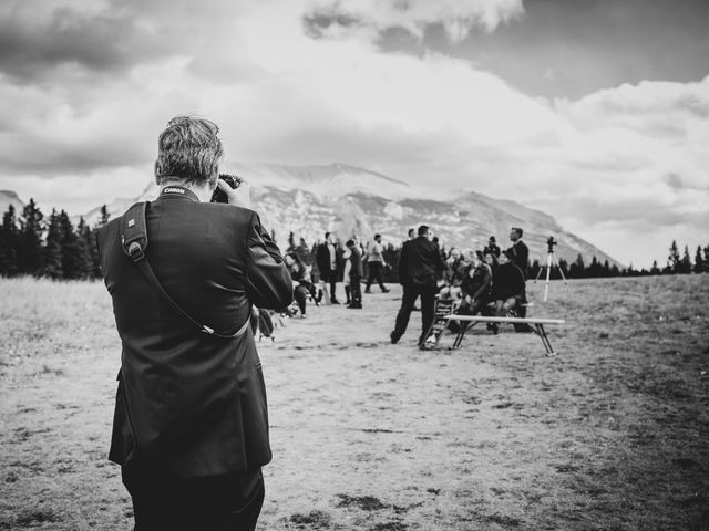 Gregg and Kristina's wedding in Canmore, Alberta 28