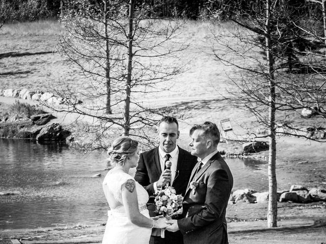 Gregg and Kristina's wedding in Canmore, Alberta 32