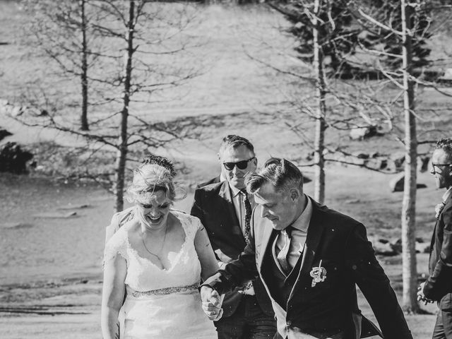 Gregg and Kristina's wedding in Canmore, Alberta 33